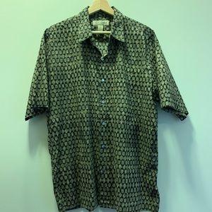 Vintage Tori Richard Abstract Shirt Mens L
